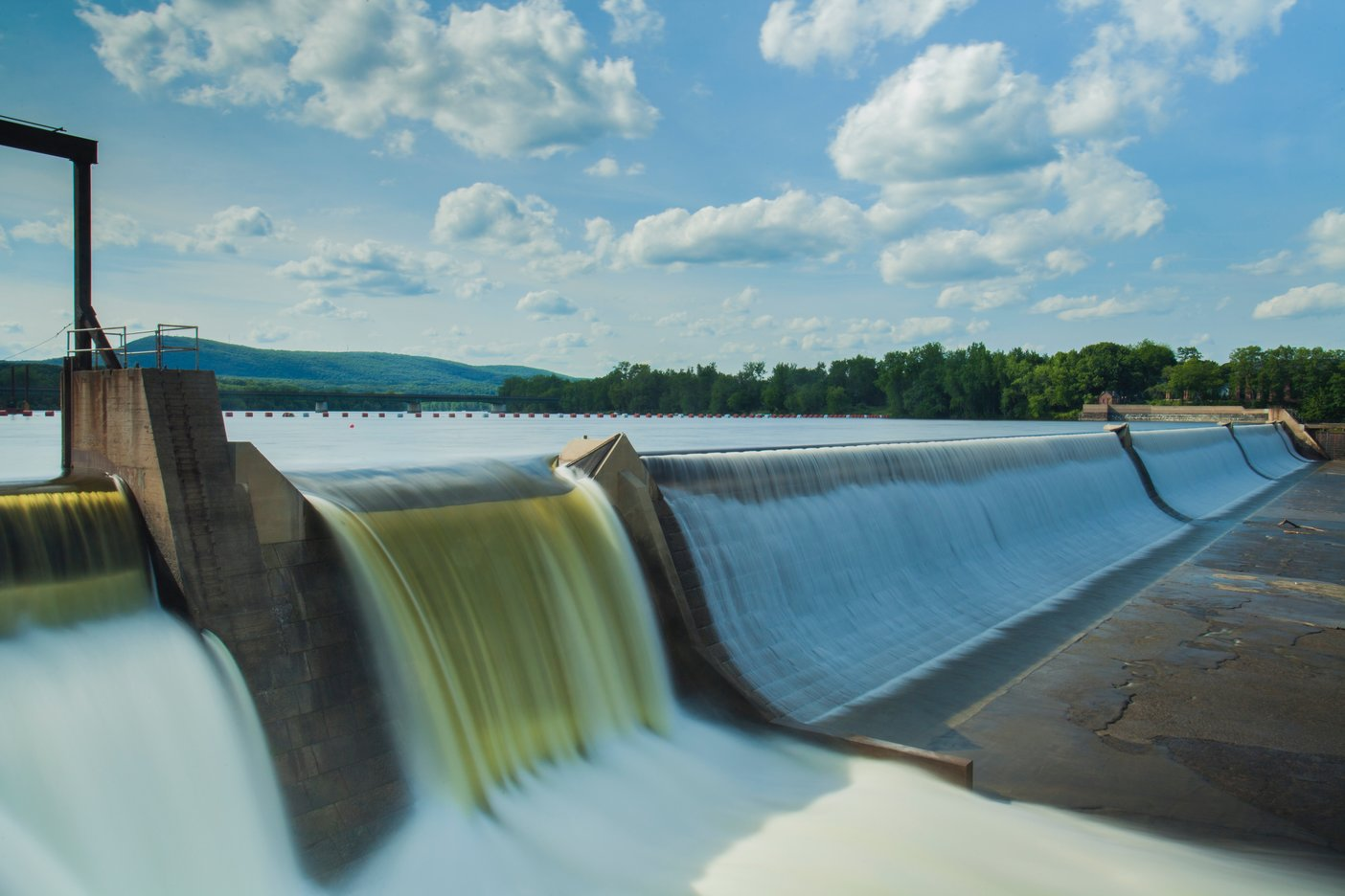 Waterkracht is de meest gebruikte manier om duurzame energie te produceren