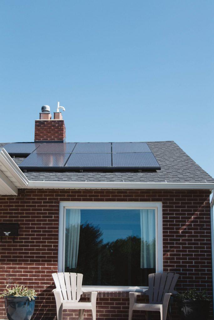 zonnepanelen op woning